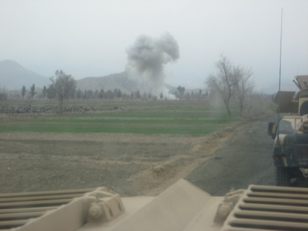 IED, Khowst, Afghanistan