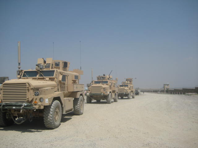 Cougars, Camp Clark, Afghanistan