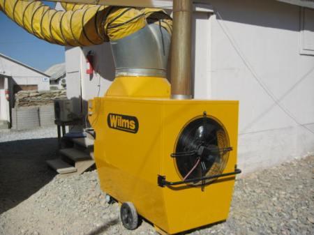 Wilms HVAC system, FOB Lightning, Gardez, Afghanistan
