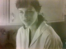My mother, Ann Castle Boswell, Athens, Ohio, 1958, Athens, Ohio, the year I was born.