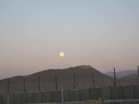 Beyond the walls of this Afghanistan FOB, a hilltop fortress reportedly built by Alexander the Great