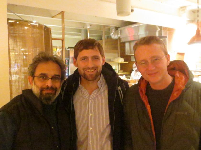 Joydeep Roy-Bhattacharya, Phil Klay, and Roy Scranton