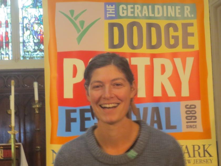 Elyse Fenton at Dodge Poetry Festival 14.