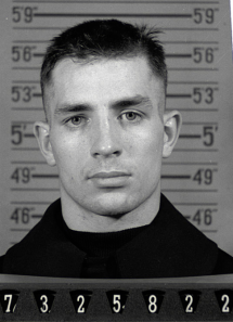 Jack Kerouac's Navy enlistment photo, 1942.