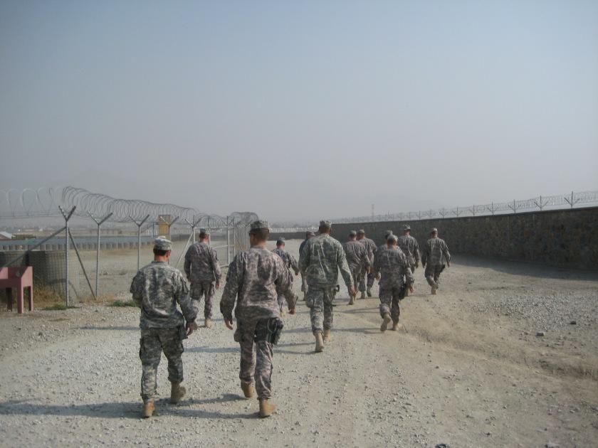 A US Army advisor team, Afghanistan, 2008.