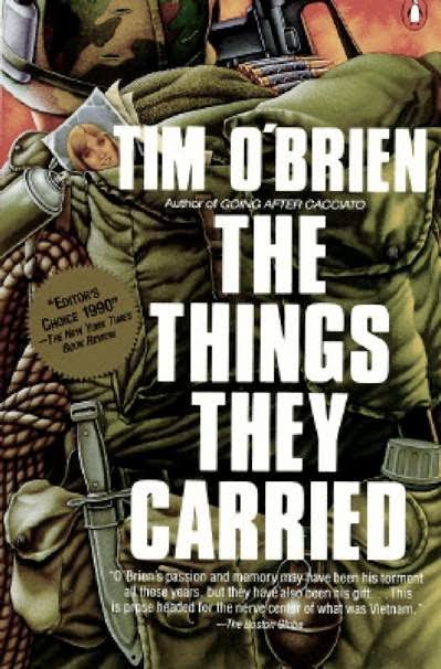"tim o brien s ""story truth"" and ""happening truth"" in the  thingstheycarried"