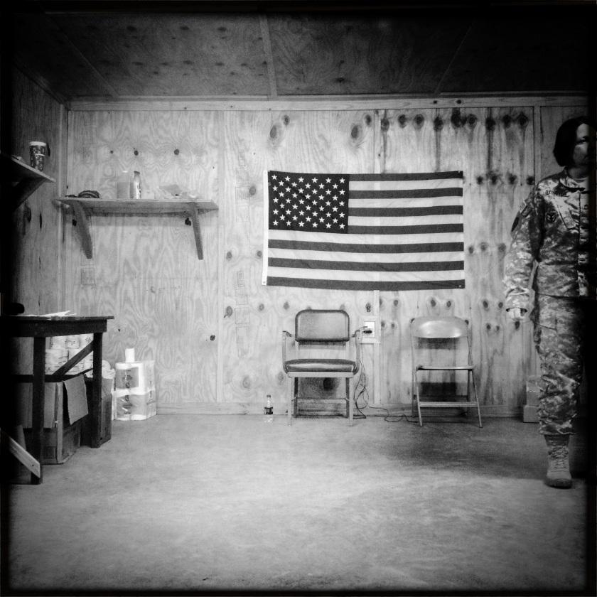 Intermediate Staging Base Headquarters, Alexandria/Fort Polk, LA. Photo by Bill Putnam, used by permission.