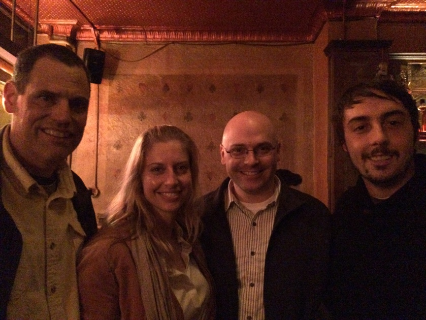 Me, Erin Hadlock, Sean Case, Matt Gallagher.
