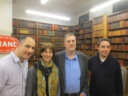Adrian Bonenberger, Roxana Robinson, David Abrams, and Matt Gallagher
