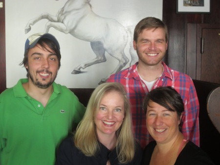 Matt Gallagher, Siobhan Fallon, Brandon Willitts, and Mariette Kalinowski
