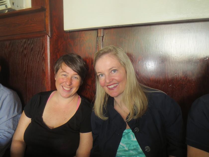 Mariette Kalinowski and Siobhan Fallon