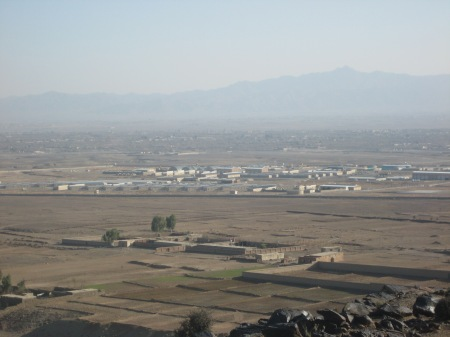 Camps Parsa and Clark, Khost Province, Afghanistan