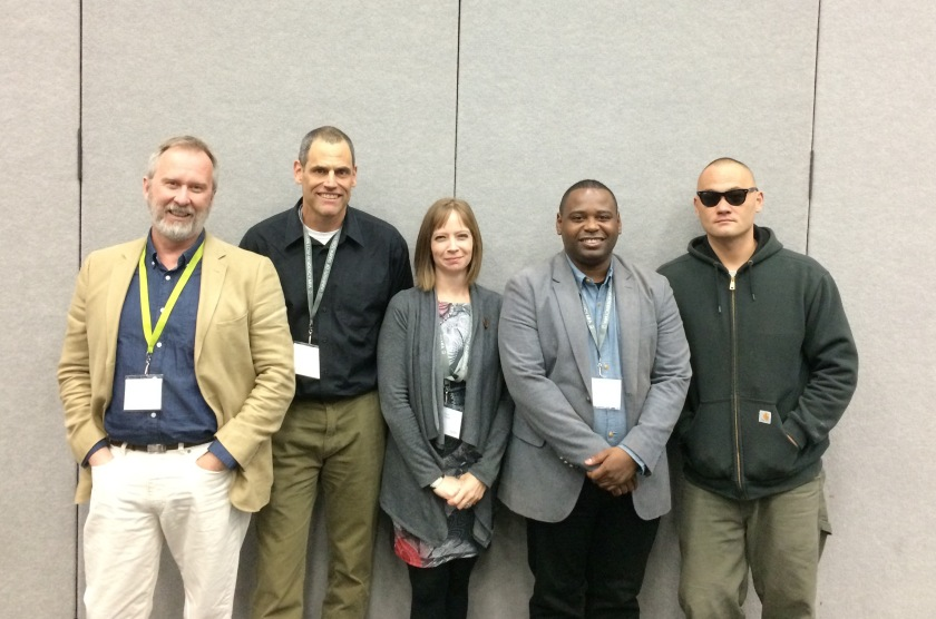 Ron Capps, me, Kayla Williams, Maurice Decaul, Colby Buzzell
