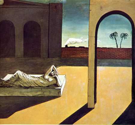 """Giorgio de Chirico, """"Ariadne on Naxos"""""""
