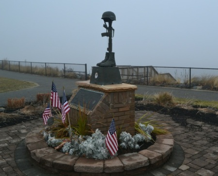 Iraq War Memorial, Raritan Bay Waterfront Park, NJ