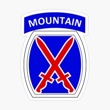 10th Mountain Division Logo